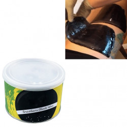 CERA CERETTA brasiliana barattolo black wax INDOLORE DEPILATORIA LIPOSOLUBILE 400 GR PER SCALDACERA DEPILAZIONE CALDO