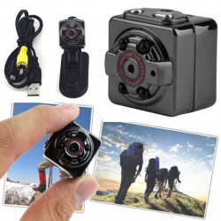 MINI DV CAMERA SQ8 TELECAMERA DIGITALE FULL HD 1920x1080 AUDIO VIDEO REC MICRO SD CARD SPORT TEMPO LIBERO