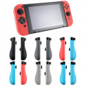 COPPIA COVER GRIP CUSTODIA ERGONOMICA SILICONE PLASTICA ANTI SCIVOLO PER JOY-CON JOY CON NINTENDO SWITCH colore casuale